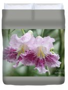 Desert Willow Duvet Cover