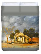 Deserted Castlemain Farmhouse Duvet Cover