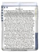 Desiderata Sailing In Style Duvet Cover