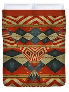Design 1 -native Inspired Duvet Cover by Jeff Burgess