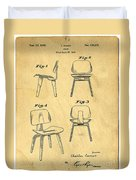 Designs For A Eames Chair Duvet Cover by Edward Fielding