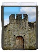 Desmond Castle Doors Duvet Cover