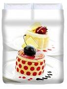 Desserts Duvet Cover