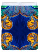 Destiny Unfolding Into An Abstract Pattern Duvet Cover