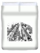 Destruction Duvet Cover