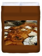 Detail Mammoth Springs Yellowstone Duvet Cover
