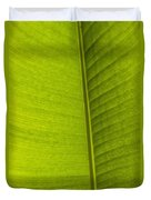 Detail Of Banana Leaf Andromeda Duvet Cover