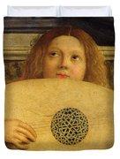 Detail Of The San Giobbe Altarpiece Duvet Cover