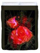 Detailed Roses Duvet Cover