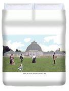 Detroit - Horticultural Conservatory - Belle Isle Park - 1905 Duvet Cover