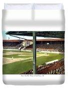 Detroit - Navin Field - Detroit Tigers - Michigan And Trumbull Avenues - 1914 Duvet Cover