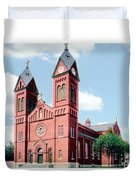 Detroit - Sheridan Avenue - St Anthony Catholic Church - 1910 Duvet Cover