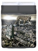 Detroit Duvet Cover