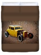 Deuce Coupe On Rust  Duvet Cover