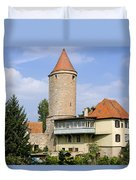 Deutschland, Bayern, Franken Duvet Cover by Tips Images