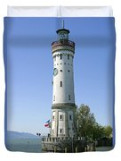 Deutschland, Bayern, Lindau Am Duvet Cover by Tips Images