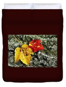 Deux Feuilles Duvet Cover by JAMART Photography
