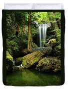 Devil Creek Falls  Duvet Cover