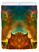 Devil Nebula Duvet Cover