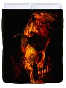 Devil Within Duvet Cover