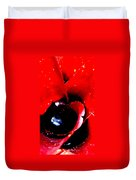 Devilish Eye Of The Bromeliad Duvet Cover