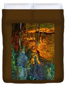 Devils Cavern Bari Greece Duvet Cover