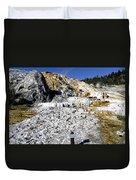 Devils Thumb - Yellowstone Duvet Cover