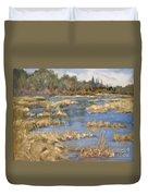 Devon Bog Oil Duvet Cover