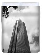 Devon Tower In Okc Duvet Cover