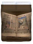 Devotional Book Duvet Cover
