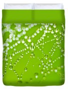 Dew Drops Duvet Cover