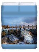 Dewey Beach Delaware Duvet Cover
