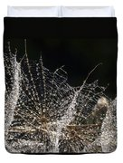 Dewy Seed Parachutes Duvet Cover