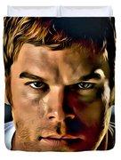 Dexter Portrait Duvet Cover