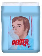 Dexter With Hand Duvet Cover
