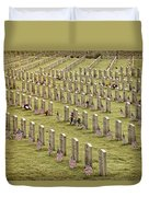 Dfw National Cemetery II Duvet Cover