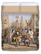 Dia De Reyes, Cuba Duvet Cover