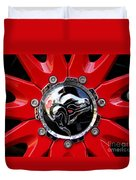 Diablo Wheel Hub Duvet Cover