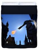 Diagon Alley Dragon Fire Duvet Cover