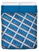 Diagonal View Duvet Cover