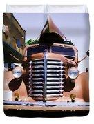 Diamond T Truck - Sahara Duvet Cover