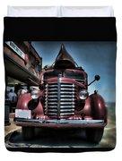 Diamond T Vintage Truck Art Duvet Cover
