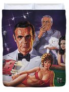 Diamonds Are Forever Duvet Cover