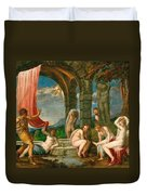 Diana And Actaeon Duvet Cover