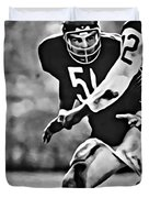 Dick Butkus Duvet Cover