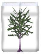 Dicroidium Prehistoric Seed Plant Duvet Cover
