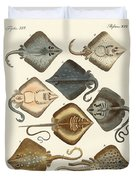 Different Kinds Of Rays Duvet Cover
