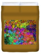 Digiral Abstract Colors Rich Duvet Cover