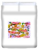 Digital Abstract 3 Duvet Cover