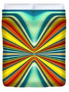 Digital Art Pattern 8 Duvet Cover by Amy Vangsgard